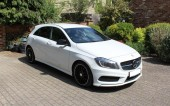 Mercedes-Benz A200 Night Edition 2015, 48,000 miles