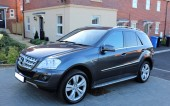 Mercedes-Benz ML300 2010, 88,000 miles