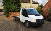 Ford Transit Chassis Cab 2013, 94,000 miles